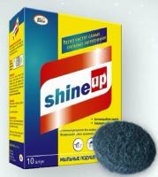 Мыльные подушечки из стальной ваты Shine Up
