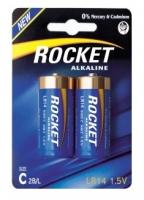 Элемент питания Rocket, LR14, С (щелочная, стандарт)