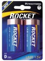 Элемент питания Rocket, LR20, D (щелочная, стандарт)