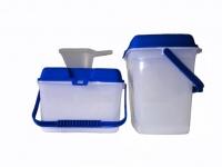 Контейнер для стирального порошка 3,9л./7.8л.+мерный стакан